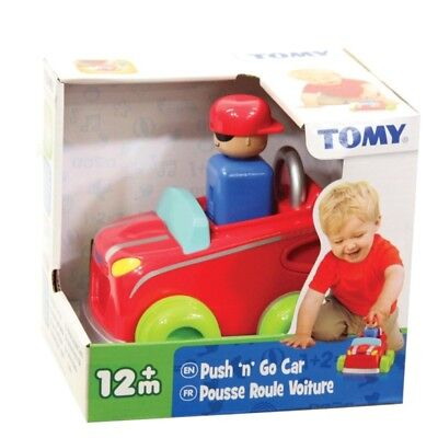 Tomy Pre-School Toys Push n Go Assortment from the age of 12 months