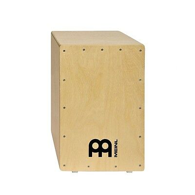 Meinl Percussion HCAJ100NT Headliner Snare Cajon Baltic Birch