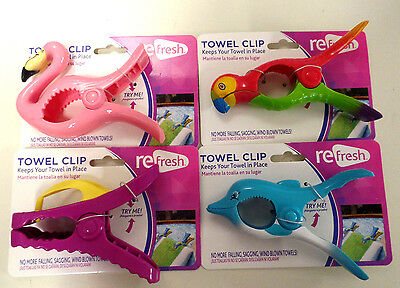 Towel Clips--Keep Your Towel In Place--Easy Grip