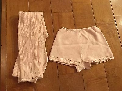Capezio Knitted Sweater (size small) + Capezio Knitted Shorts (size medium)