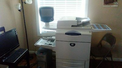 xeroxdocucolor 242 used full color  copier machine