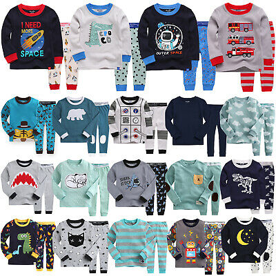 """40Style"" Vaenait Baby Top+Pants Toddler Boy Clothes Long Sleepwear Set 12M-7T"