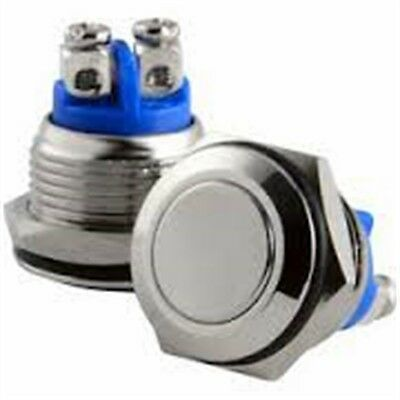 15mm 12V Momentary On/Off Push Buttons Switch Hot Rod/Custom