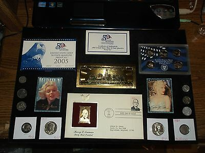 JUNK Drawer Coin Lot Proof Set+Gold TRUMAN Stamp+Kennedy Half Dollars+BUFFALO