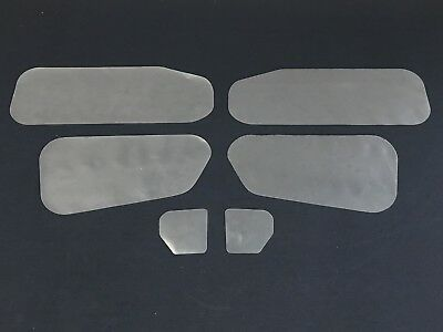 Holden EH, EJ Sedan, Wagon Inner Door Moisture & Dust Seals. Trim Gasket 200um