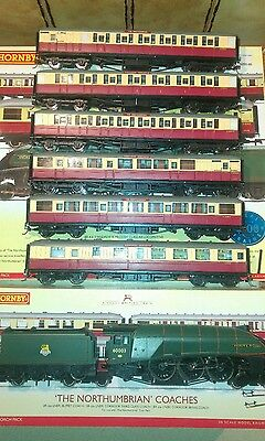 Hornby British steam train pack The Northumbrian