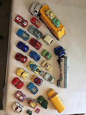 Chevron Collectible Toy Cars (huge lot of 27 cars/trucks)