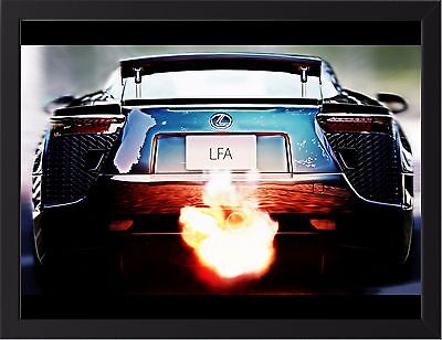 Poster of Mazda FD RX7 RX-7 FD3S Front Giant Super Car Print Huge 54x36 Inches