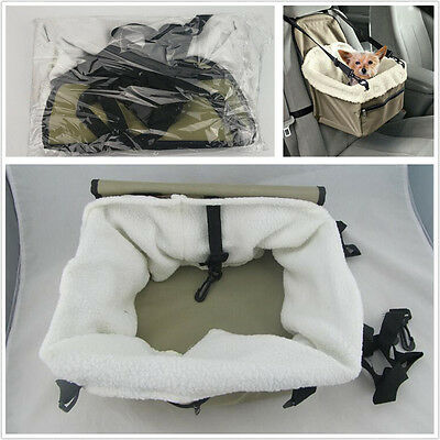 Puppy Dog Cat Carrier Car Booster Seat Pet Snoozer Hammock Safety Basket Travel