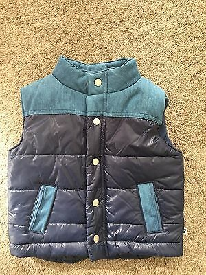 Bebe puffer vest size 6-9 months NWT