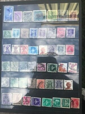 stamps India - Used - Lot 136