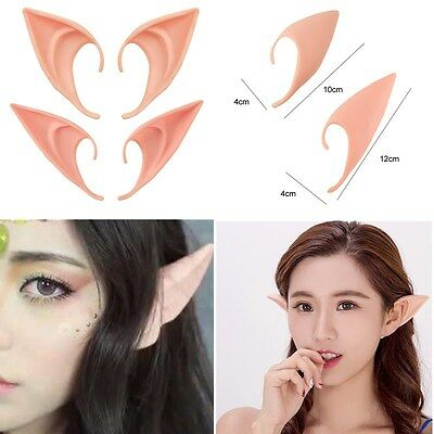 Halloween Anime Elven Ears Fairy Wizard Sorcerer Cosplay Accessories Two Sizes