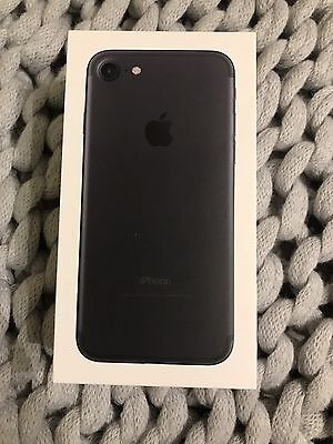 Iphone 7 128Gb - Box Only - Black Model - As New Condition.