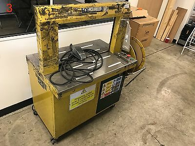 Gordian Strapping - StraPack RQ-8x Automatic Strapping Machine
