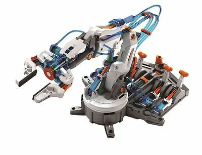 Build Your Own Hydraulic Robot Arm Remote Controlled Kids Educational Kit