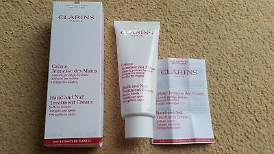 Clarins Hand and Nail Treatment Cream 100ml - boxed