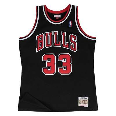 Mitchell & Ness Scottie Pippen #33 Chicago Bulls 1997-98 Swingman NBA Trikot