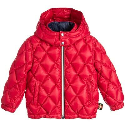 Gucci Baby Girls Red Down Padded Jacket 36 Months