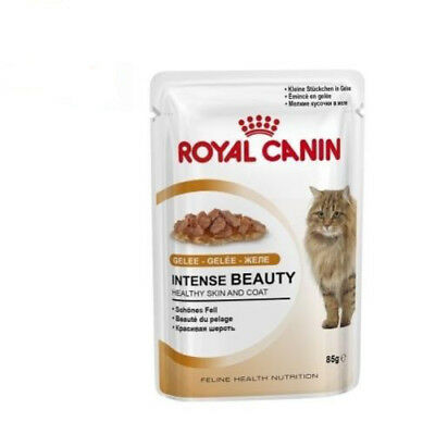 Sobre 85g ROYAL CANIN INTENSE BEAUTY brillo y belleza en pelaje de gatos adultos