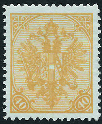 BOSNIA & HERZ. 1900 Arms 40h orange hinged mint key - 99159