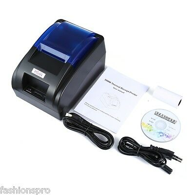 2017 HOIN HOP - H58 USB Thermal Printer Receipt Machine NEW