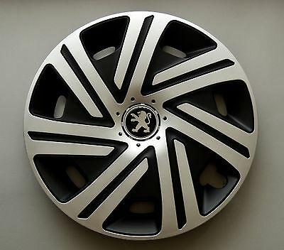 "16"" Peugeot Partner,Expert,407,308,... Wheel Trims / Covers, Hub Caps,Quantity 4"