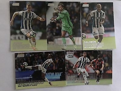 2016 Topps Stadium Club Premier League(EPL) Soccer Cards Base Set-Albion (5)