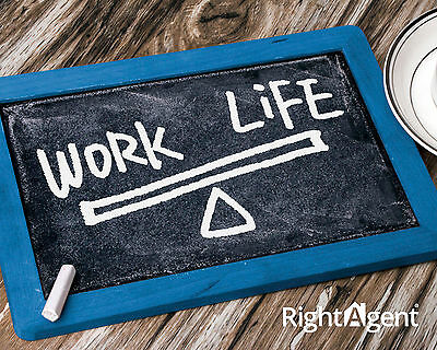 Get that work life balance right, own your own business with RightAgent.
