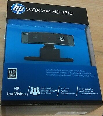 HP HD 3310 Webcam (A5F62AA#ABB)
