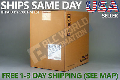 2017 New Factory Sealed Allen Bradley 25B-D037N114 Ser A Powerflex 525 Ac Drive