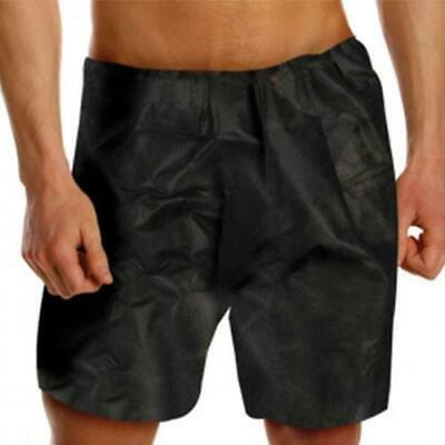 Disposable Boxer Shorts - Black (pack of 10)