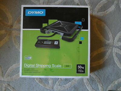 Dymo S50 Shipping Scale 50Kg UK Black S0929050, USB Connection