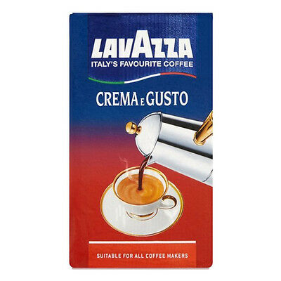 Lavazza - Crema é gusto Pack Ground Coffee - 250gr