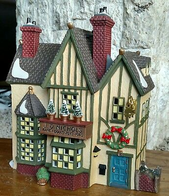 J. D. Nichols Toy Shop Department 56 Dickens Village-BUYER GUARANTEE