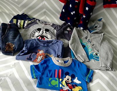 Boys Clothes Bundle 18-24 Months Dressing Gown Jeans Tops T-shirts Gruffalo