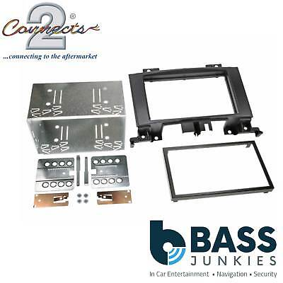 CT23VW06 Volkswagen Crafter 2006 On Car Stereo Double Din Fascia Facia Panel Kit