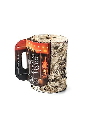 Swedish Fire Torch Log Candle Outdoor Garden Party