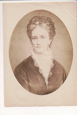 Vintage Unmounted Photo Princess Louise of Hesse-Kassel Queen of Denmark