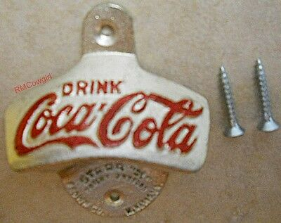 Drink Coca Cola Wall mount bottle opener drink soda beer