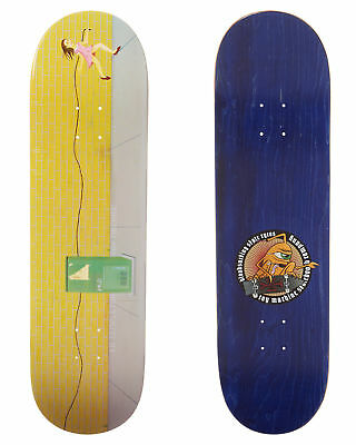New Toy Machine Skate Ed Templeton 8 5 Inch Deck Skateboard Skateboarding