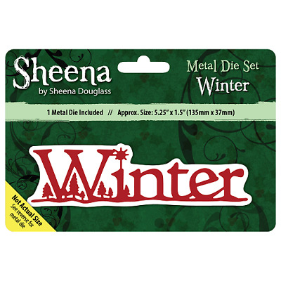 Sheena Douglass WINTER - Xmas Sentiment Die