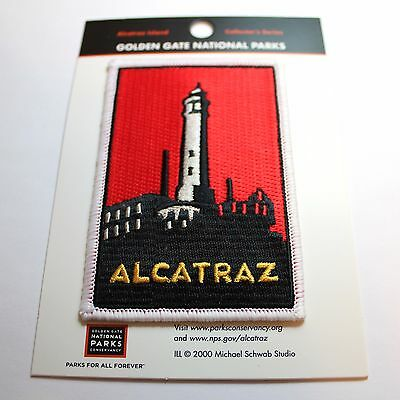 Official Alcatraz Island Souvenir Patch National Park San Francisco California