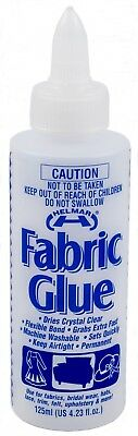 Helmar Fabric Glue 125ml Sewing Hems Adhesive