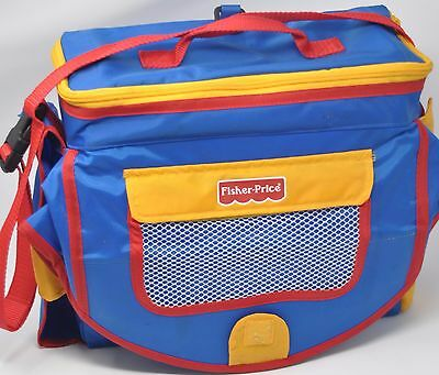 Fisher-Price Stow 'n Go Booster Seat Lightweight Take It Everywhere Booster Bag