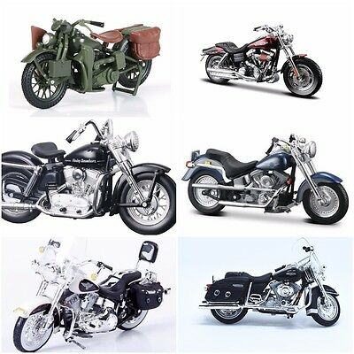 Maisto Harley Davidson Motorcycles 1:18 Assortment