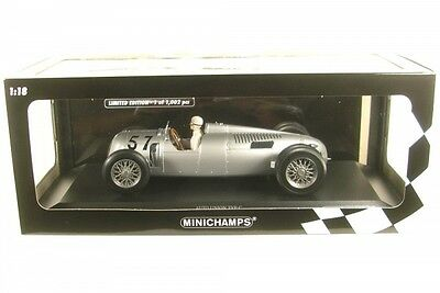 Auto Union Typ C No.57 Winner Shelsley Walsh Hillclimb 1936 (Hans Stuck)