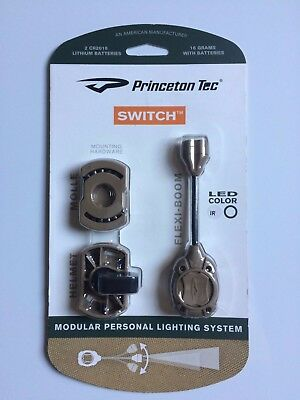 Princeton Tec Switch Modular Personal Lighting System Ii New And Sealed