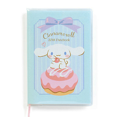 Cinnamonroll Pocket Date Book 2018 Sanrio Kawaii cute Japan Free Shipping