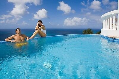 Luxury Caribbean Villa with private pool, St Lucia, sleeps 6.   Up to 14 nights
