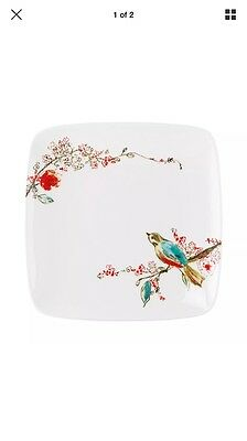 Lenox CHIRP Square Accent Salad Plate set of 4 8026008